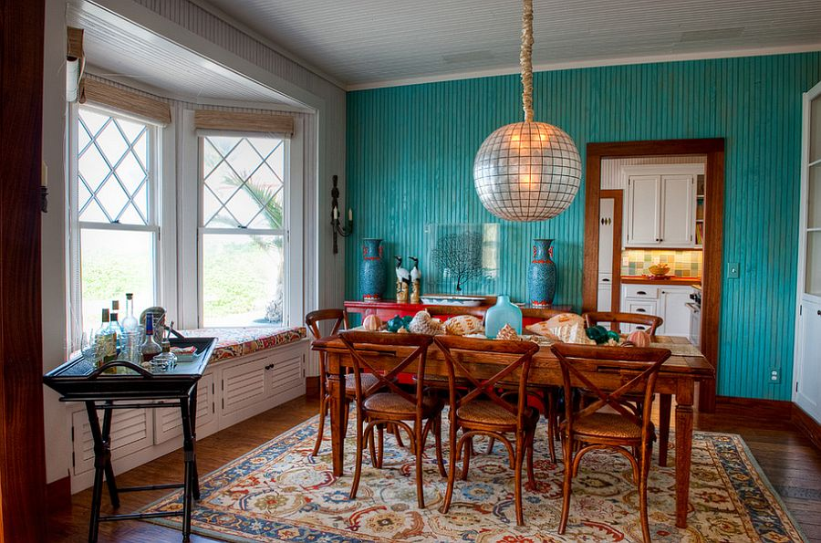 Blue Dining Rooms 18 Exquisite Inspirations, Design Tips