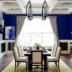 Blue Living Room Walls Decorating Designs For Rooms Dining 18 Exquisite Inspirations Design Tips View In Gallery Unique Cheerful Photography Rikki Snyder