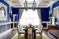Blue Dining Rooms: 18 Exquisite Inspirations, Design Tips
