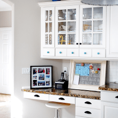 Kitchen Cabinet Cost Sinks Kohler 8 Low Diy Ways To Give Your Cabinets A Makeover View In Gallery Aqua And White