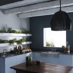 Indoor Kitchen Garden Rachael Ray Accessories 18 Creative Ideas To Grow Fresh Herbs Indoors Custom Shelves In The Are Perfect For A Cool Herb Design