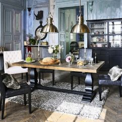 Arhaus Kitchen Table Dark 30 Unassumingly Chic Farmhouse Style Dining Room Ideas