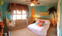 20 Kids Bedrooms That Usher in a Fun Tropical Twist!