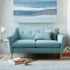 West Elm Sofa Sleeper Gold Velvet Sofas Uk The Best For Small Spaces