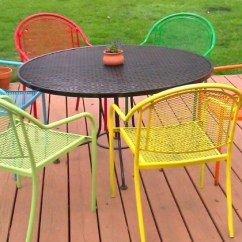 Iron Patio Chair Dining Cushions With Ties Uk 10 New Ways To Think About Wrought For The Garden Or