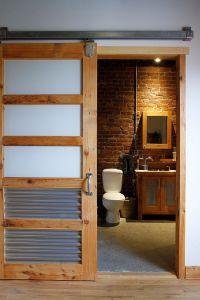 15 Sliding Barn Doors That Bring Rustic Beauty to the Bathroom