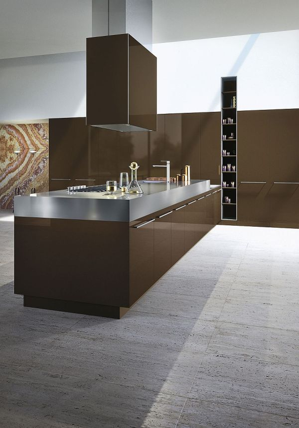 Timeless Italian Kitchen Wrapped In Chic Elegance Snaidero
