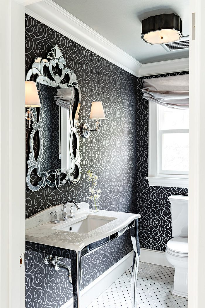 How to Design a PicturePerfect Powder Room
