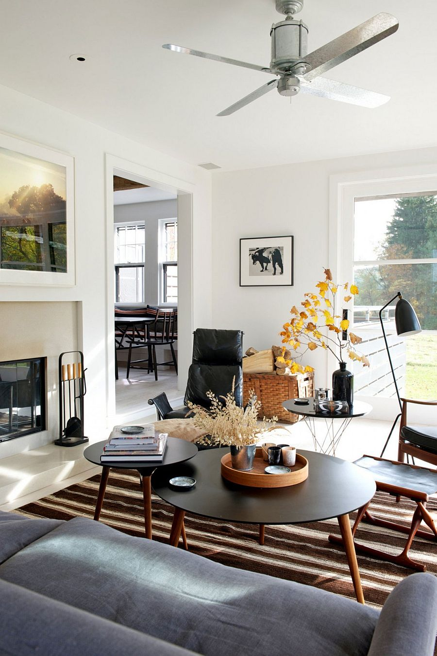 Midcentury Bungalow In New York Delights With Vintage Panache