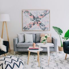 Style For Small Living Room Ideas With Wood Burner 50 Chic Scandinavian Rooms Inspirations View In Gallery A Touch Of Greenery Your Design Claudia Stephenson Interiors
