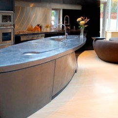 Beautiful Kitchen Islands Countertops Materials 14 Concrete That Prove This Material Suits Any ...