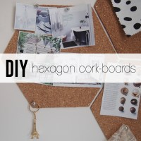 DIY: A Quick and Easy Hexagon Cork