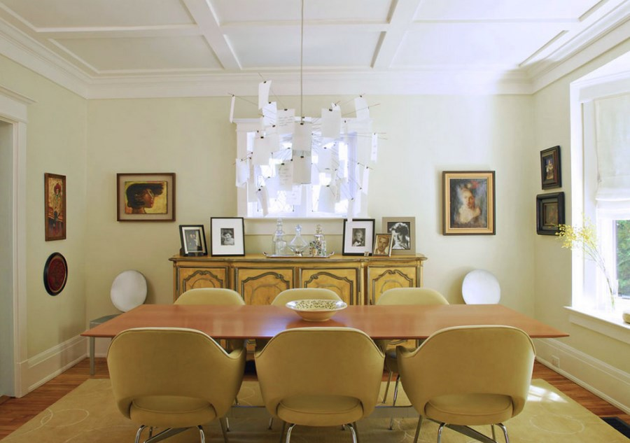 unusual dining chair wicker desk add personality to your interior with a coffered ceiling