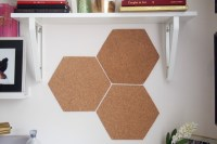 DIY: A Quick and Easy Hexagon Cork-Board