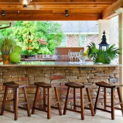 Aluminum Kitchen Chairs Modern Cabinets For Sale 10 Outdoor Home Bars A Boozy Summer