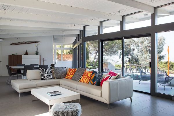 1950s mid-century modern home remodel