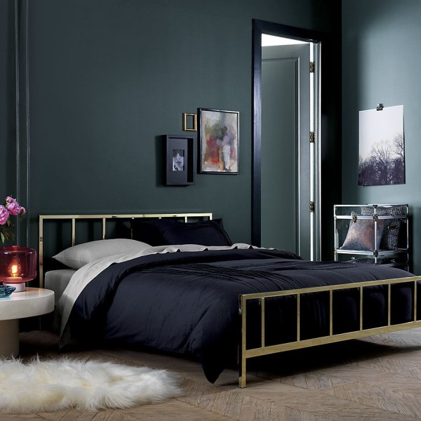 Rooms Painted with Black Trim