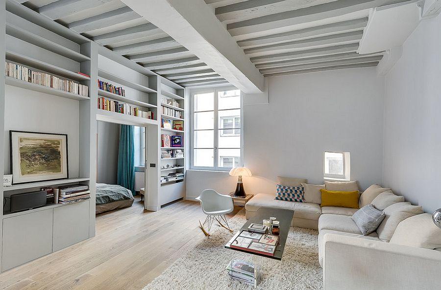 Small Paris Apartment With Space-saving Design [Design