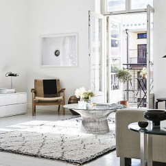 Scandinavian Living Room Design Furniture Contemporary 50 Chic Rooms Ideas Inspirations Smart Platner Coffee Table Sits At The Heart Of This Lovely