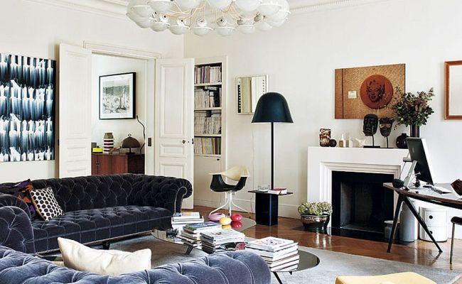 Decorating Parisian Style Chic Modern Apartment By Sandra