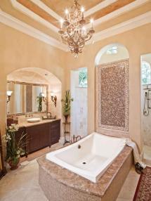 Romantic Master Bathroom Idea