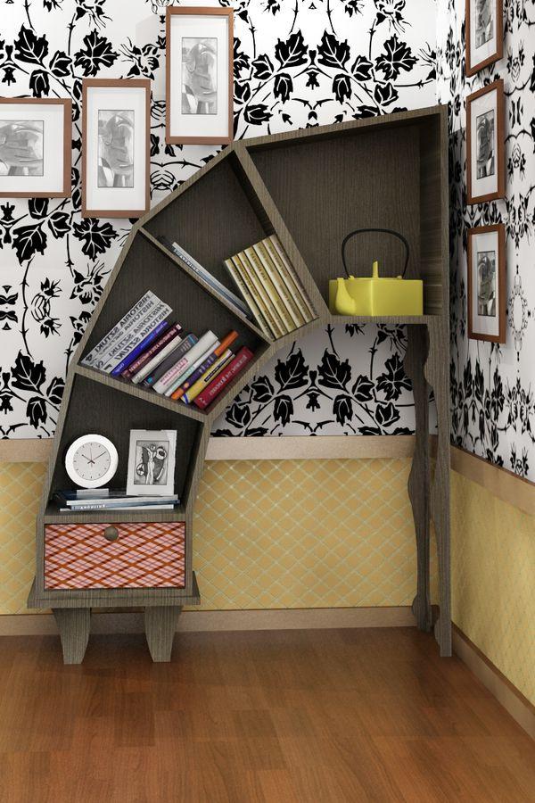 22 Extremely Creative Bookshelves