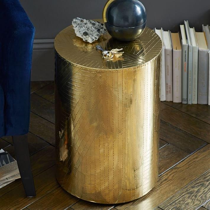 Brass Furniture Lighting and Decor