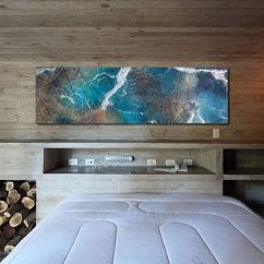 Contemporary Artwork Living Room Light Gray Wall Paint 50 Modern Art Ideas For A Moment Of Creativity View In Gallery Gorgeous Adds Color To The Bedroom From John Wolf Fine