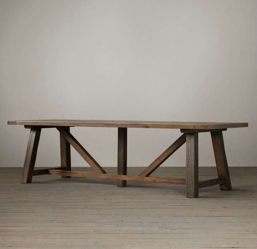 Amish Oak Dining Table