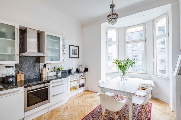 scandinavian white kitchen 50 Modern Scandinavian Kitchens That Leave You Spellbound