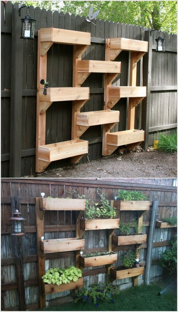 8 Space Saving Vertical Herb Garden Ideas For Small Yards & Balconies