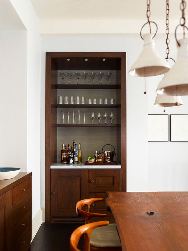 Small Home Bar Ideas And Space-savvy Design