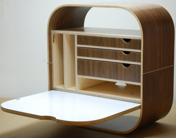 8 Wall-mounted Desks Save Room In Small Spaces