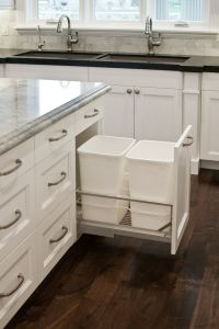 8 Ways to Hide or Dress Up an Ugly Kitchen Trash Can