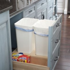 Kitchen Garbage Island Kitchens 8 Ways To Hide Or Dress Up An Ugly Trash Can Ingenious Way Make Room For More Cans