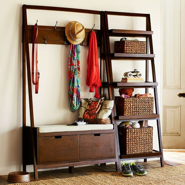 Hall Tree Bench with Storage
