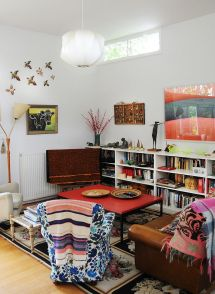 Small Eclectic Living Room Design