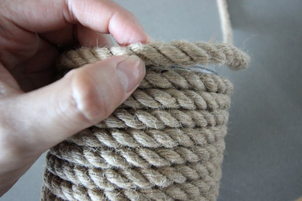 Decorative Rope Wrapping - Year of Clean Water