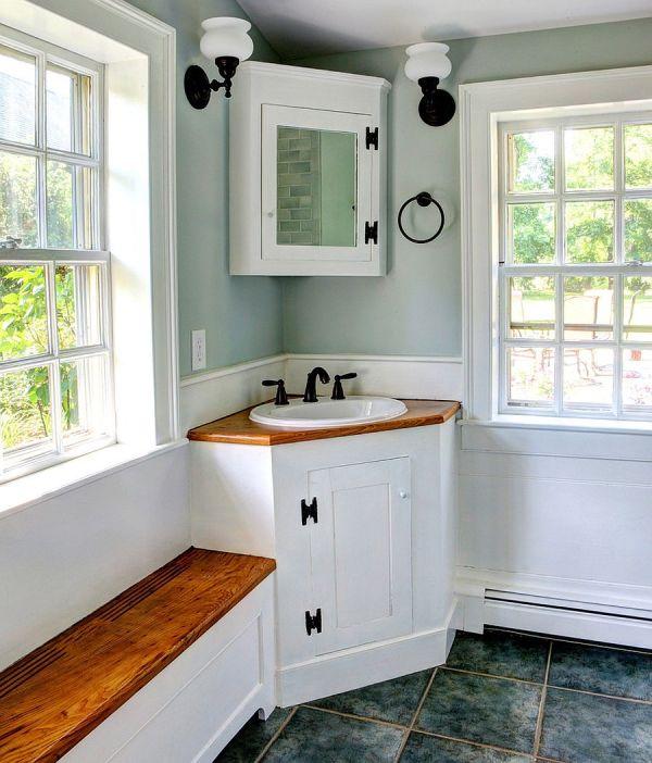 Small Bathroom Corner Sink Vanity