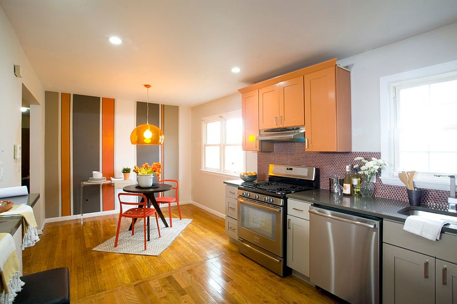 resurface kitchen cabinets how to remodel a small hot trend: 20 tasteful ways add stripes your