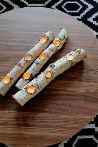 8 Easy DIY Wood Candle Holders for Some Rustic Warmth This ...