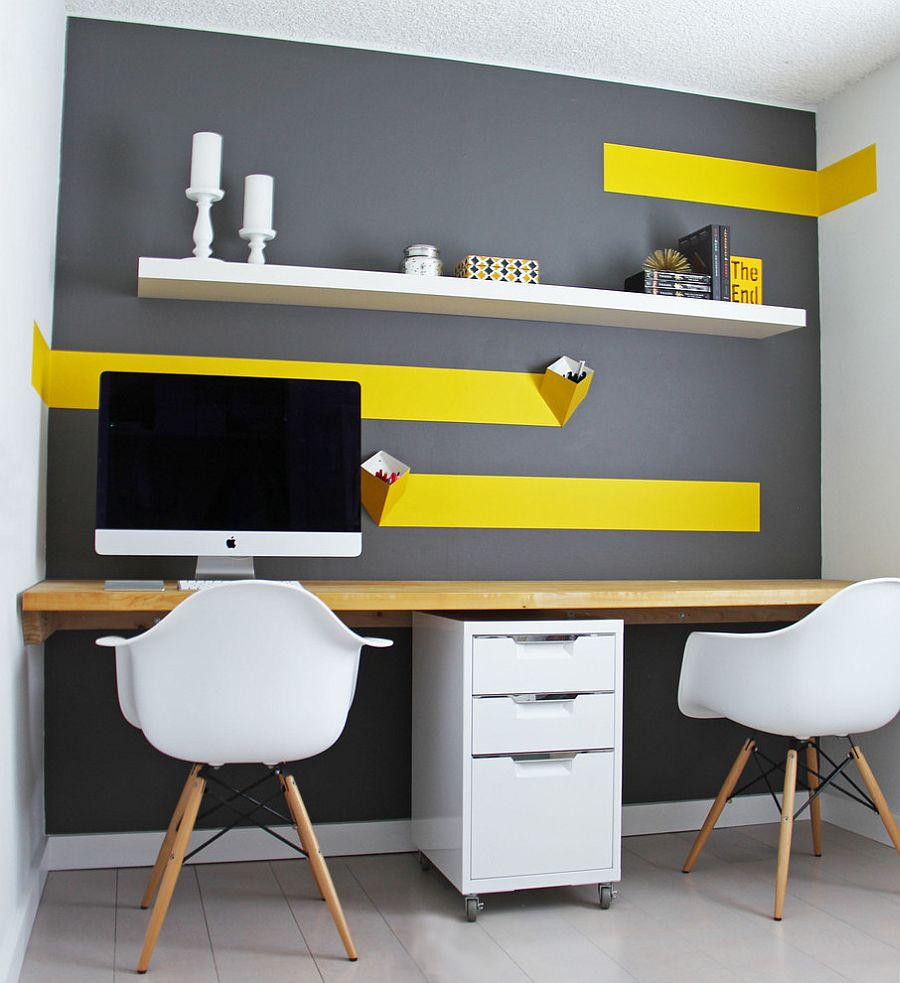 Energize Your Workspace 30 Home Offices with Yellow Radiance