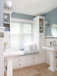 25 Bathroom Bench and Stool Ideas for Serene Seated ...