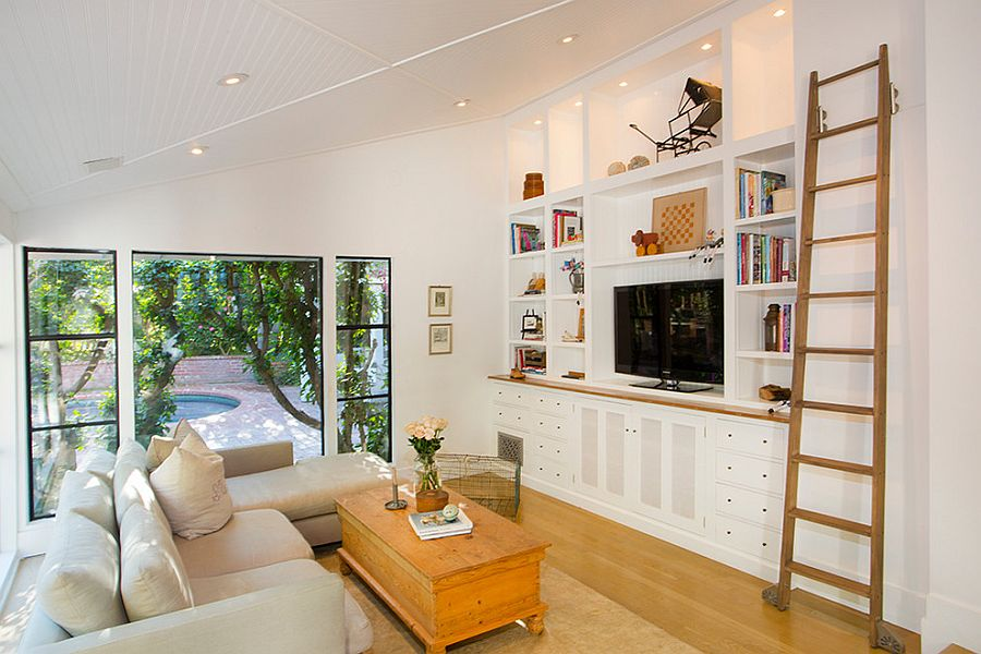small living room with tv ideas setup in corner 20 rooms that balance style functionality clean and cozy eclectic family design thea home inc