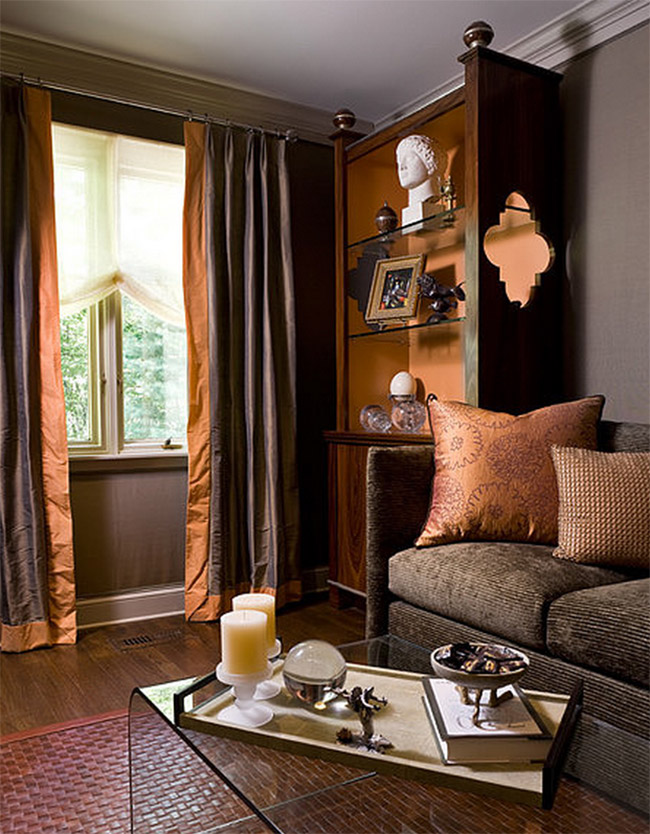 8 Ways To Fall Into Autumn With Rich Rust Colored Home Decor