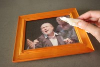 How to Make a Cute and Rustic Picture Frame Using Recycled ...