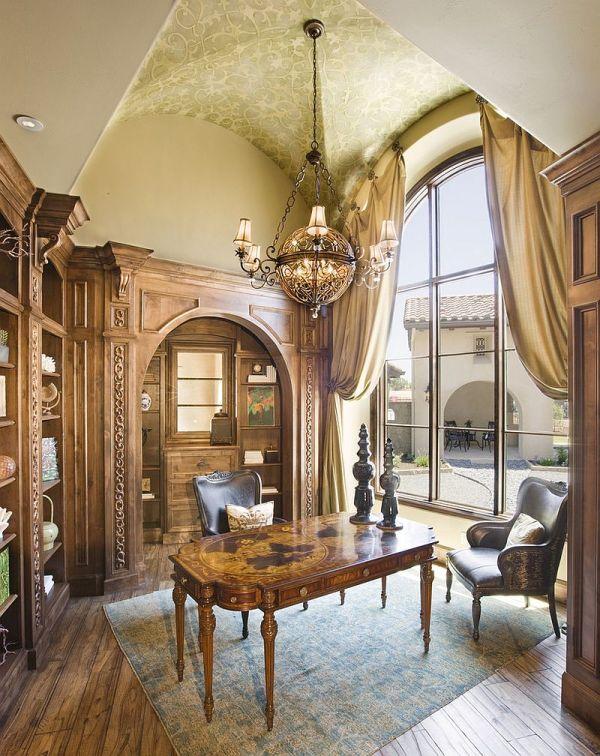 Mediterranean Home Office