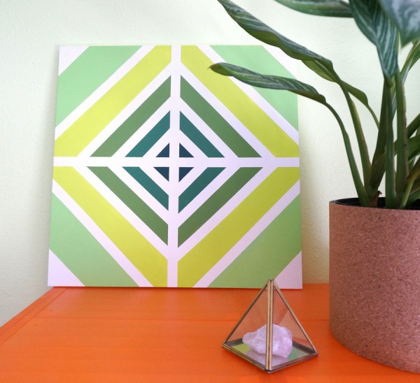 Easy Diy Painting With Retro Style