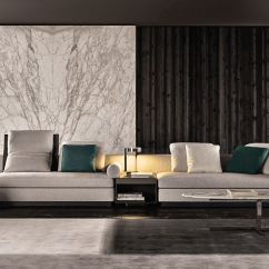 Leather Sofa Couch Sectional Set With Chaise 20 Modish Minotti Sofas And Seating Systems