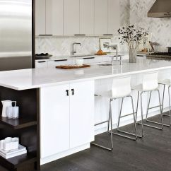 White Kitchen Islands Outdoor Accessories Sale Trendy Display 50 With Open Shelving Elegant Island Dark Shelves Design Croma Express Kitchens